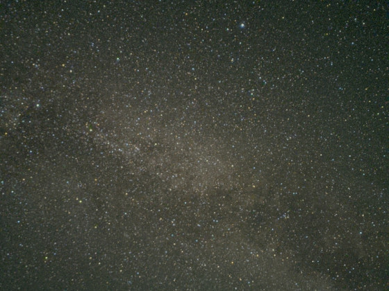 Vergleich Bortle 6,5 vs 5 Handyfotos d. Milchstraße