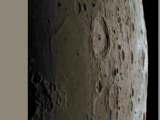 Mondkrater Langrenus und Umgebung am 14.06.2021 RGB