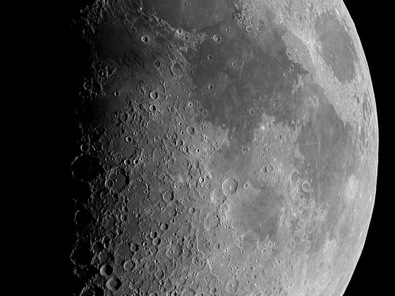 Mond am 17.06.2021