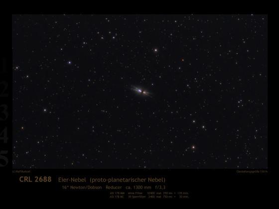 Eier-Nebel, CRL 2688
