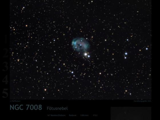 NGC 7008 Fötusnebel