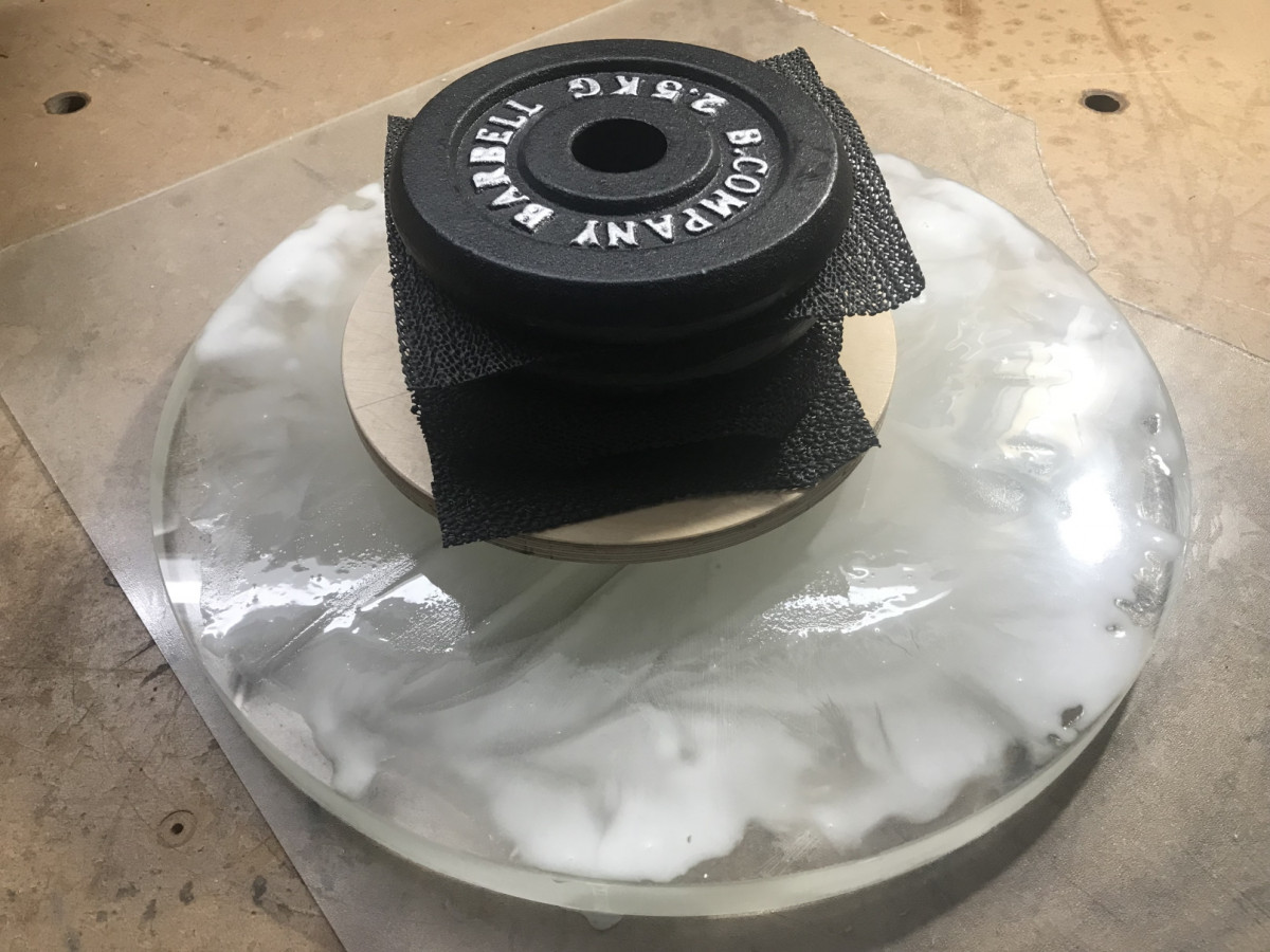 Aushöhlen mit Diamant-Ringtool