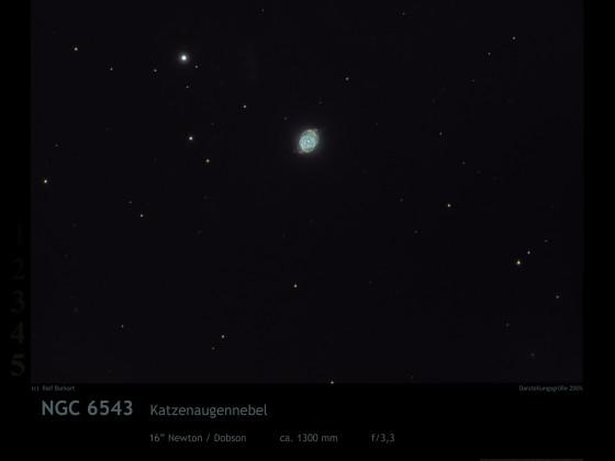 Katzenaugennebel NGC 6543