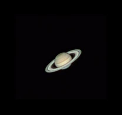 Saturn: erste Versuche mit neuer Kamera