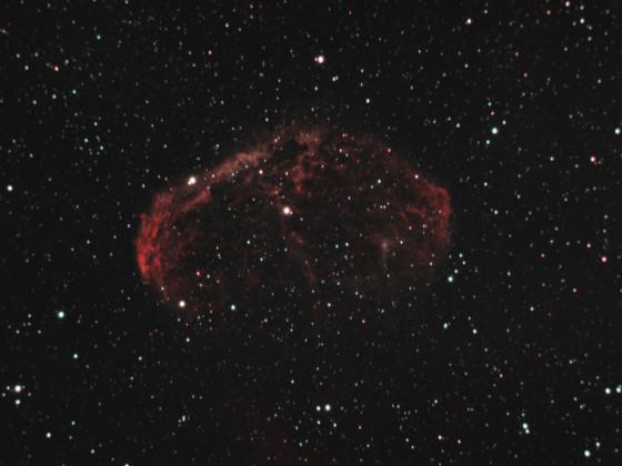 Crescent Nebel (Caldwell 27, NGC 6888) über Dresden