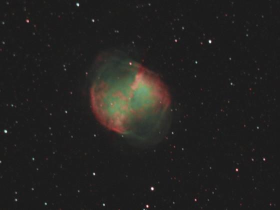 Hantelnebel (M 27, NGC 6853) über Dresden