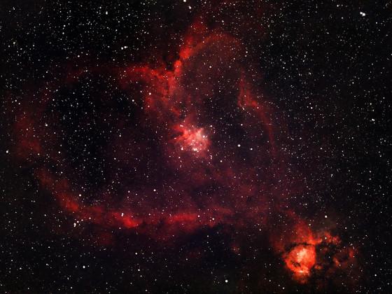 Herznebel NGC896/IC1805