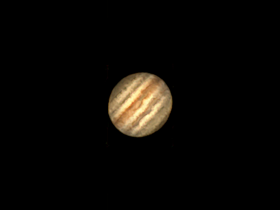 Jupiter vom 17.8.2021
