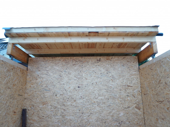 letzter Funktionstest vor den Klempnerarbeiten am Dach