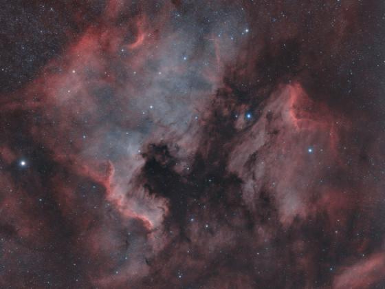NGC 7000 + IC 5070 Nordamerika + Pelikannebel