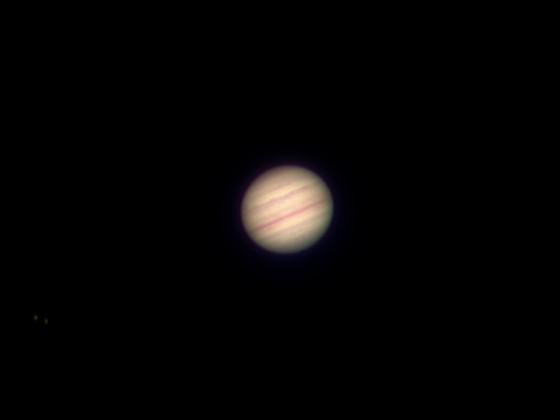 Jupiter mit Europa und Io