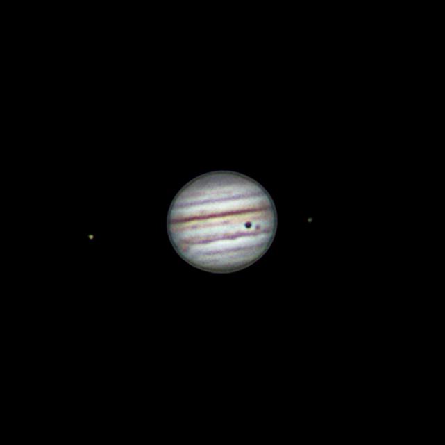 Jupiter mit Ganymed Bedeckung