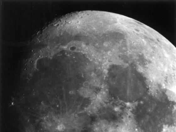 Mond am 08.11.2000