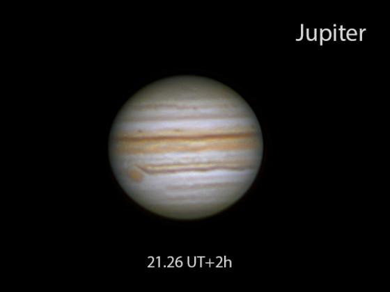 Jupiter vom 3.9.2021
