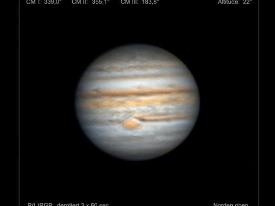 Jupiter am 08.September 2021