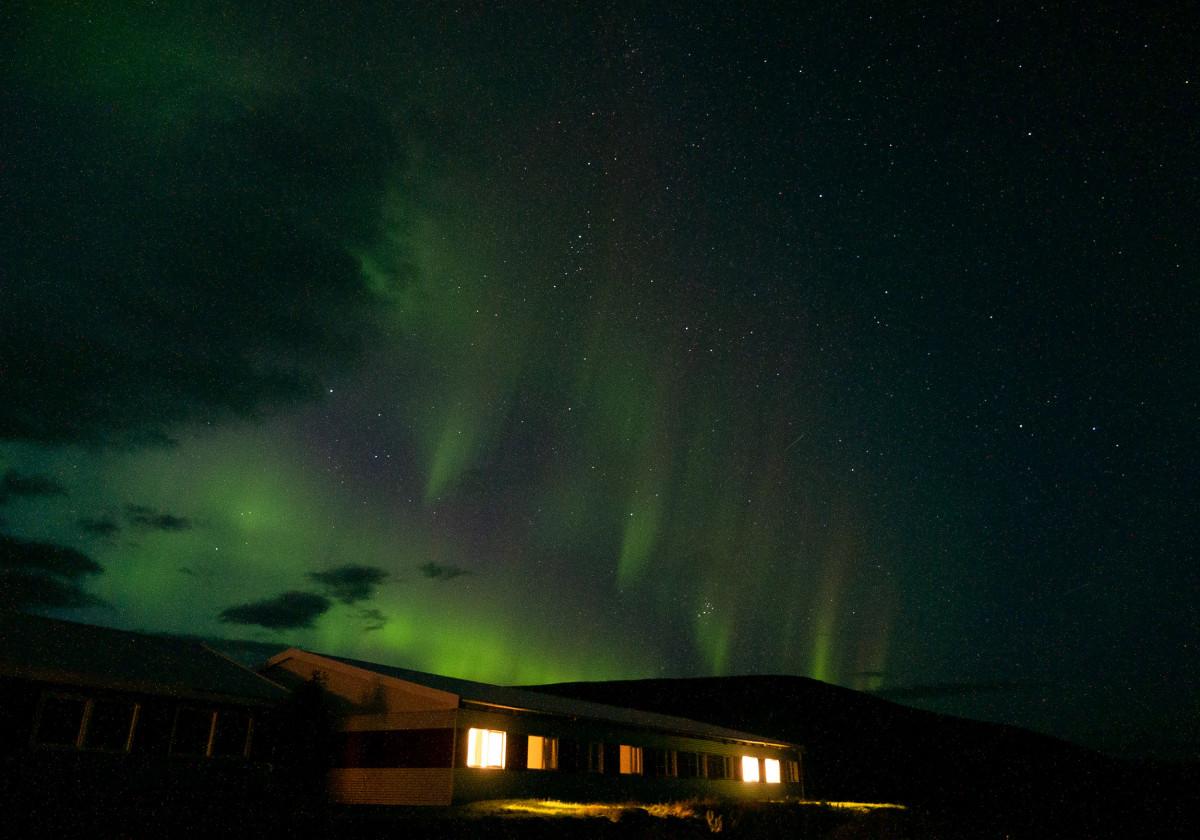 Aurora Borealis auf Island