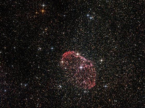 """Großstadtastronomie: NGC 6888 - """"Crescent-Nebel"""""""