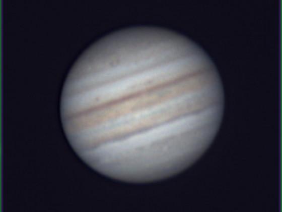 Jupiter am 12.9.2021in Südhessen