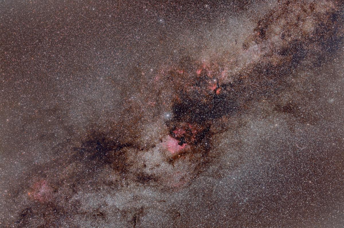 Milchstraße - Region um Deneb