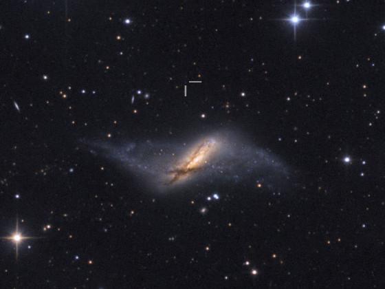 NGC 660 QSO
