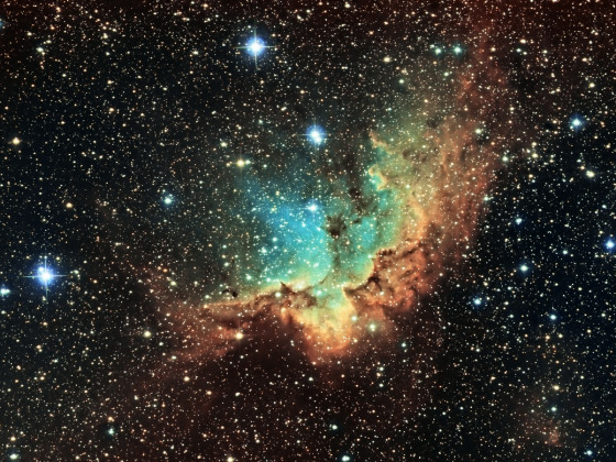 NGC 7380 - Zauberernebel