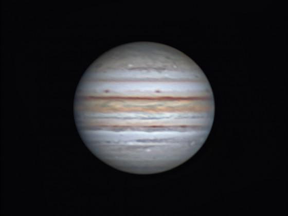 "Jupiter mit 12"" Newton"