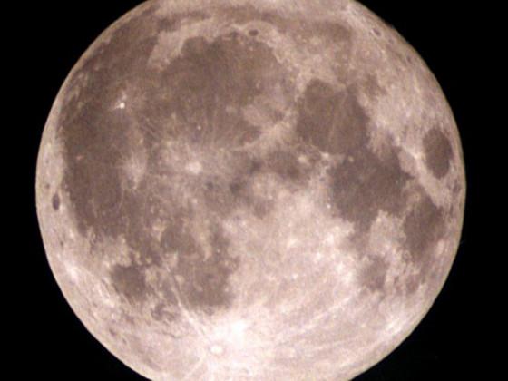 Mond am 11.11.2000