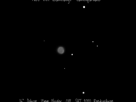 "NGC 1501 Das ""Kamelauge"" in Camelopardalis"