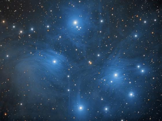M45 Plejaden LRGB