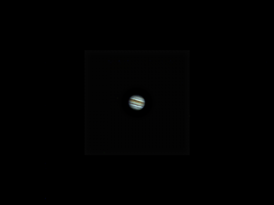 "Jupiter mit 4"" Skywatcher Mak u. Zwo Asi 120 MC"
