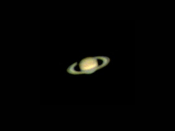 """Saturn mit 4"""" Mac (ohne Barlow) und Zwo Asi 120 MC"""