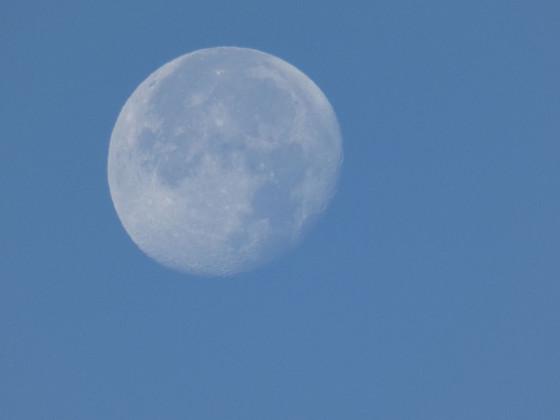 Mond am Taghimmel