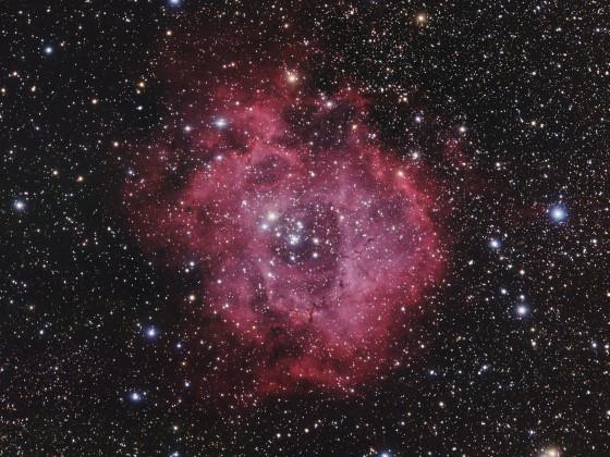 Rosettennebel (NGC 2237, 2238, 2239, 2244, 2246)