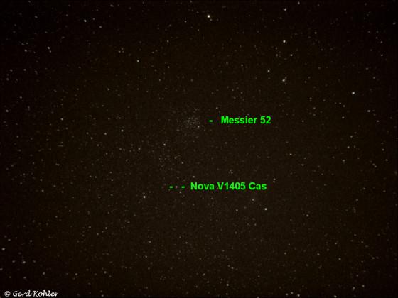 Nova V1405 Cas