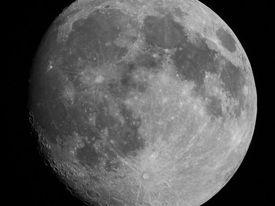 Mond vom 26.03.2021