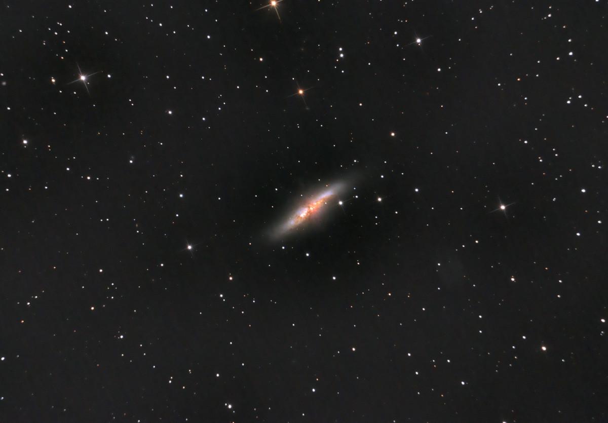 Messier 82 - die Zigarre