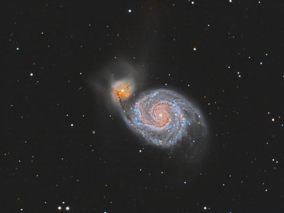 """Whirlpool"" - Galaxie M 51"