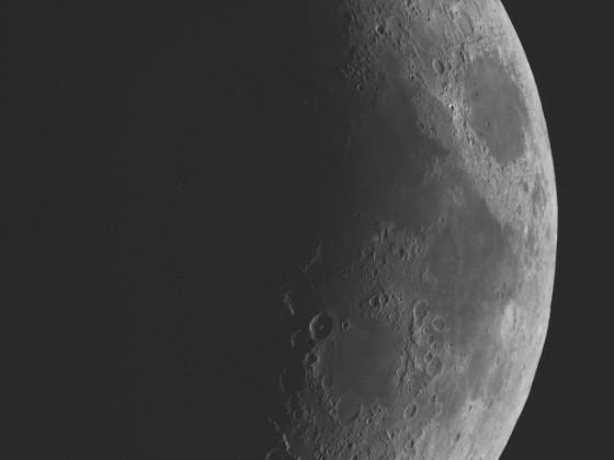 Mond vom 17. April 2021