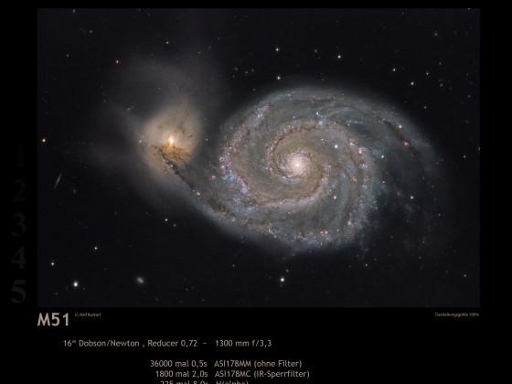 M51 mit Dobson
