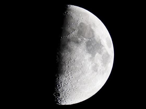 Mond mit Vixen A81M