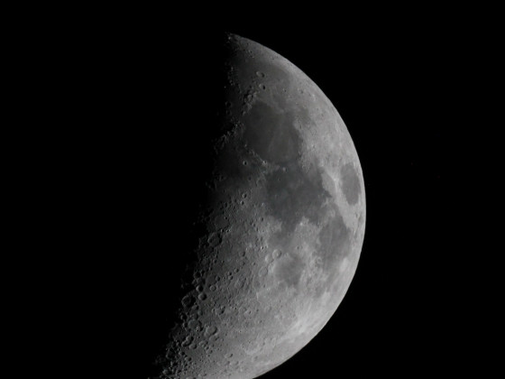 Mond mit Canon 550D