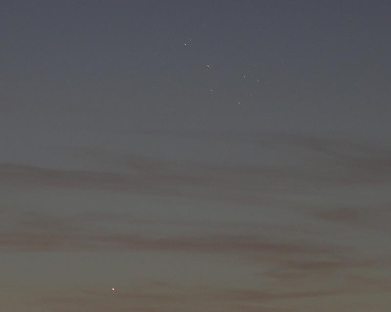 Merkur & Plejaden