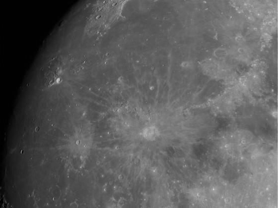 Mond vom 24. April 2021
