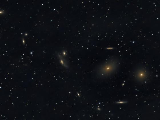 Markarian´s Chain/NGC4485