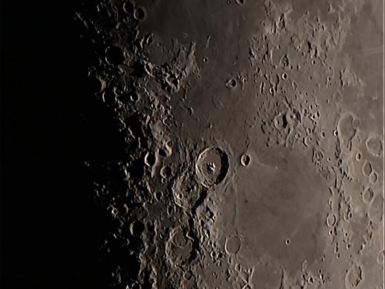 Mond am 17.05.2021