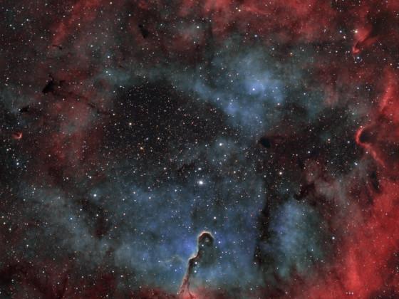 IC 1396A - Elefantenrüssel