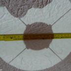 Messung der Öffnung und der Abschattung