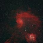 "IC405 ""Flammender Stern-Nebel"""