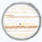 Jupiter-Farbimpression vom Freitagmorgen, 13.08.2021