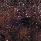 Kleine Sagittariussternwolke M 24 mit NGC 6603